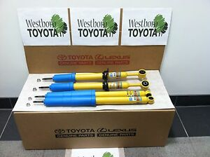 Toyota Tacoma 2005 2015 Oem Genuine New Front And Rear Bilstein Shocks Set Of 4