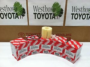 Toyota Oem Oil Filter 04152 Yzza1 Quantity Pack Of 5 04152yzza1