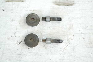 Mg Mgb Factory Cylinder Head Exhaust Manifold Stud With Nut And Thick Washer X2