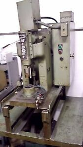 Punch Press Broaching Machine