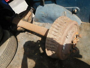 1963 63 1964 Cadillac Rear Axle Assembly Gears Third Member With 45 000 Miles