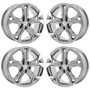 17 Chevrolet Cruze Pvd Chrome Wheels Rims Factory Oem Set 4 5749 Exchange