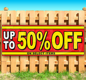 Up To 50 Off Advertising Vinyl Banner Flag Sign Many Sizes Usa 15 18 36 48
