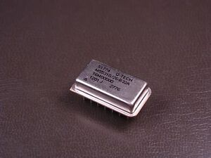 M55310 26b32a16m00000 Q tech Crystal Clock Oscillator 16mhz 5v 14 Lead Thru hole