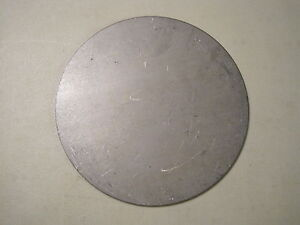 1 8 Steel Plate Disc Shaped 10 Diameter 125 A36 Steel Round Circle