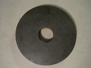 1 00 Steel Disc Ring Custom Thick Steel Water Jet Cutting