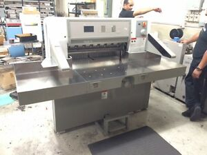 Polar Model 78 Es 30 7 Programmable Paper Cutter With Air Table Challenge