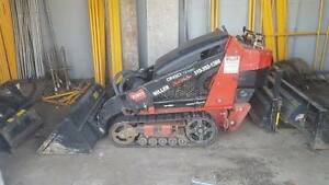 Toro Dingo Tx420 Compact Skid Steer Loader Walk Behind Bucket