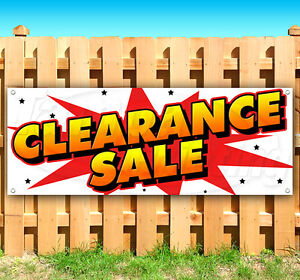 Clearance Sale Advertising Vinyl Banner Flag Sign Usa 15 18 20 30 48 52
