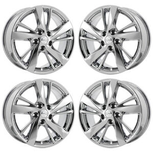 17 Fits Nissan Altima Pvd Chrome Wheels Rims Factory Oem Set 4 62593 Exchange