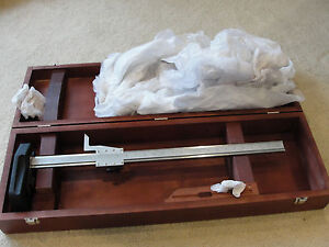 Starrett 254z 24 Master Vernier Height Gage 0 24