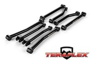 Teraflex Sport 8 Flexarm Control Arm Kit For 2 5 3 Lift 07 18 Jeep Wrangler Jk