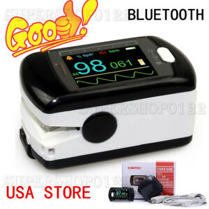 Bluetooth Usa Finger Tip Pulse Oximeter Pc Software Blood Oxygen Monitor Spo2