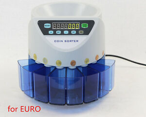 Electronic Coin Sorter Xd 9002 Coin Counting Machine For Most Of Countries