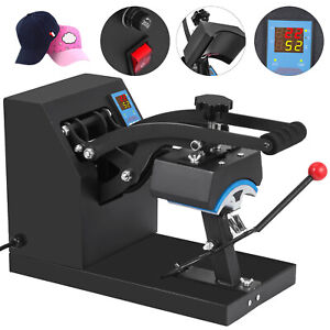 5 5 x3 5 Cap Heat Press Transfer Sublimation Steel Frame Baseball Hat Clamshell