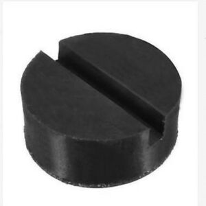 1x Universal Floor Jack Disk Rubber Pad Adapter For Pinch Weld Side Jackpad 62mm
