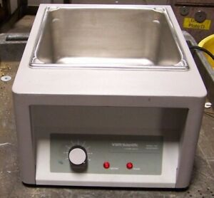 Vwr Scientific 1203 Water Bath 120 Vac 1 Phase 600 Watts 14 Liter Capacity