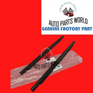 Genuine Toyota 07 14 Fj Cruiser Outer Right Left Rear Door Weatherstrips Set