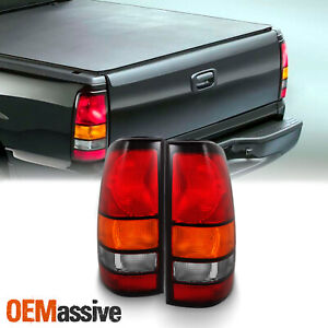 Fit 2004 2007 Gmc Sierra Pickup Tail Lights Replacement 2005 2006