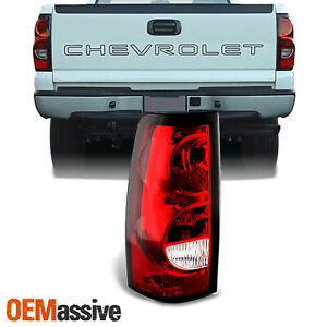 Fit 2003 2006 Chevy Silverado Pickup Driver Side Tail Lights Brake Replacement