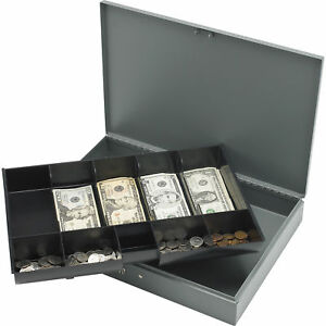 Sparco All steel Locking Cash Box With Tray Spr15500