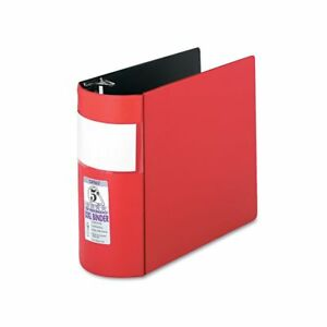 Samsill Dxl Heavy duty Locking 3 ring Binder With Label Holder 5 Sam17603