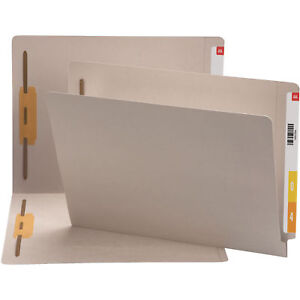 Smead End Tab File Folders With Fasteners Smd25849
