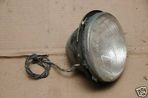 Jensen Healey Headlight Assembly With Wiring Pigtail