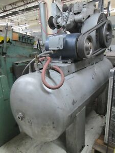 Ingersoll Rand Type 30 Compressor 20 hp 120 gallon Two stage