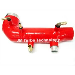 2002 2007 Subaru Wrx Sti Forester Turbo Inlet Silicone Red Color Hose