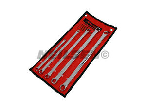 Neilsen Extra Long Aviation Spanner Set 5 Piece 8 9 10 11 13 14 15 16 17 18 19mm