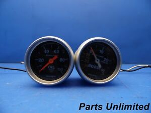 Auto Meter Turbo Boost And Oil Gauges X2 Sport comp