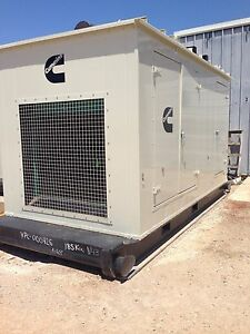 Cummins 185 Kw Natural Gas Generator Low Hours