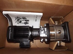 new Grundfos Crn3 Vertical Multistage Centrifugal Pump crn A99206459p11702