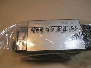 Thk Hsr 45a1 Ss Gk Full Ball Linear Rail Bearing Block End Seals Nos Sealed