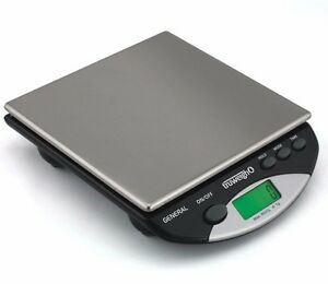 Truweigh General Compact Digital Bench Scale 8000g X 1 Gram Black Gen 8k 1g bk