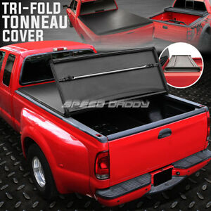 For 04 14 F150 6 5 Bed Fleetside Tri Fold Adjustable Soft Truck Tonneau Cover