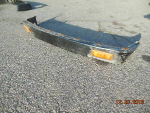 Triumph Tr7 Front Bumper Frame And Lights
