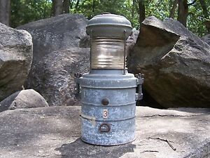 Vintage Perko Marine Ships Boat Lantern Lamp Corps Of Engineers Usce Rare