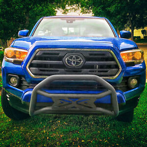 Monsta X Bull Bar Max Protection On Front Bumper Fit Toyota Tacoma 2005 2019