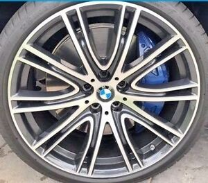 Bmw G30 G31 G11 G12 5 7 Series Oem 759i 20 V spoke Wheel Rim Set Brand New