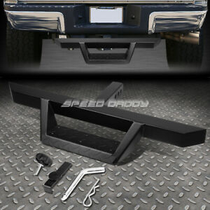 For 2 Receiver Universal 32 5 x 2 25 Black Trailer Tow Hitch Step Bar pin