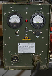 Military Rugged Portable Bench Power Supply 24 28 18 30 Volt Dc 60a Radio Gear