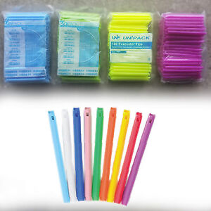 Up To 2000 Hve Vented Unvented Combo Dental Evacuator Tips Optional Colors
