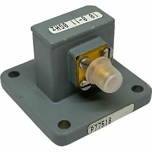 10 11ghz Wr 90 To Sma Waveguide To Coaxial Adapter 68b62 003