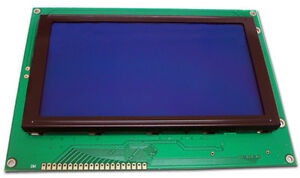Jhd639b w 320x240 Graphic Lcd Display Module Blue White Blacklight