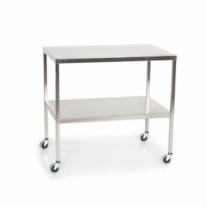 Stainless Steel Work Table With Lower Shelf 60 l X 30 w X 34 h 1 Ea