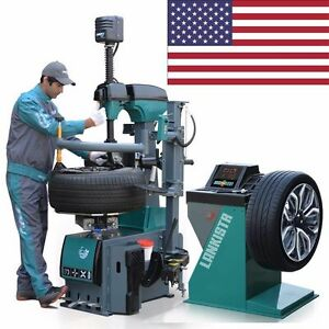 A new 1 5hp 505 137 Tire Changer Wheel Changers Machine Combo Balancer Rim Clamp