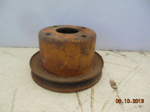Mgb Water Pump Pulley 2 5 Inches Tall Single Gloove Pulley