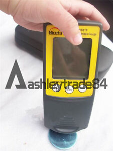 New 1pcs Cm8801f Digital Paint Coating Thickness Gauge Meter Tester 0 1000 m